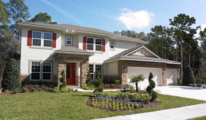The Darla model home