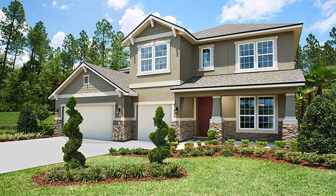 The Dillon model home