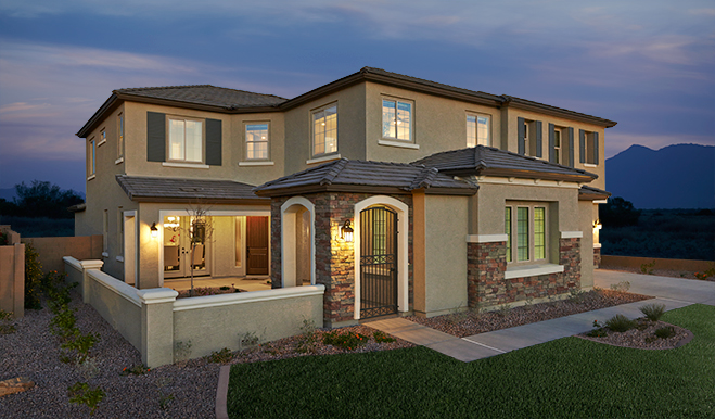 New Homes With Basements In Queen Creek Richmond