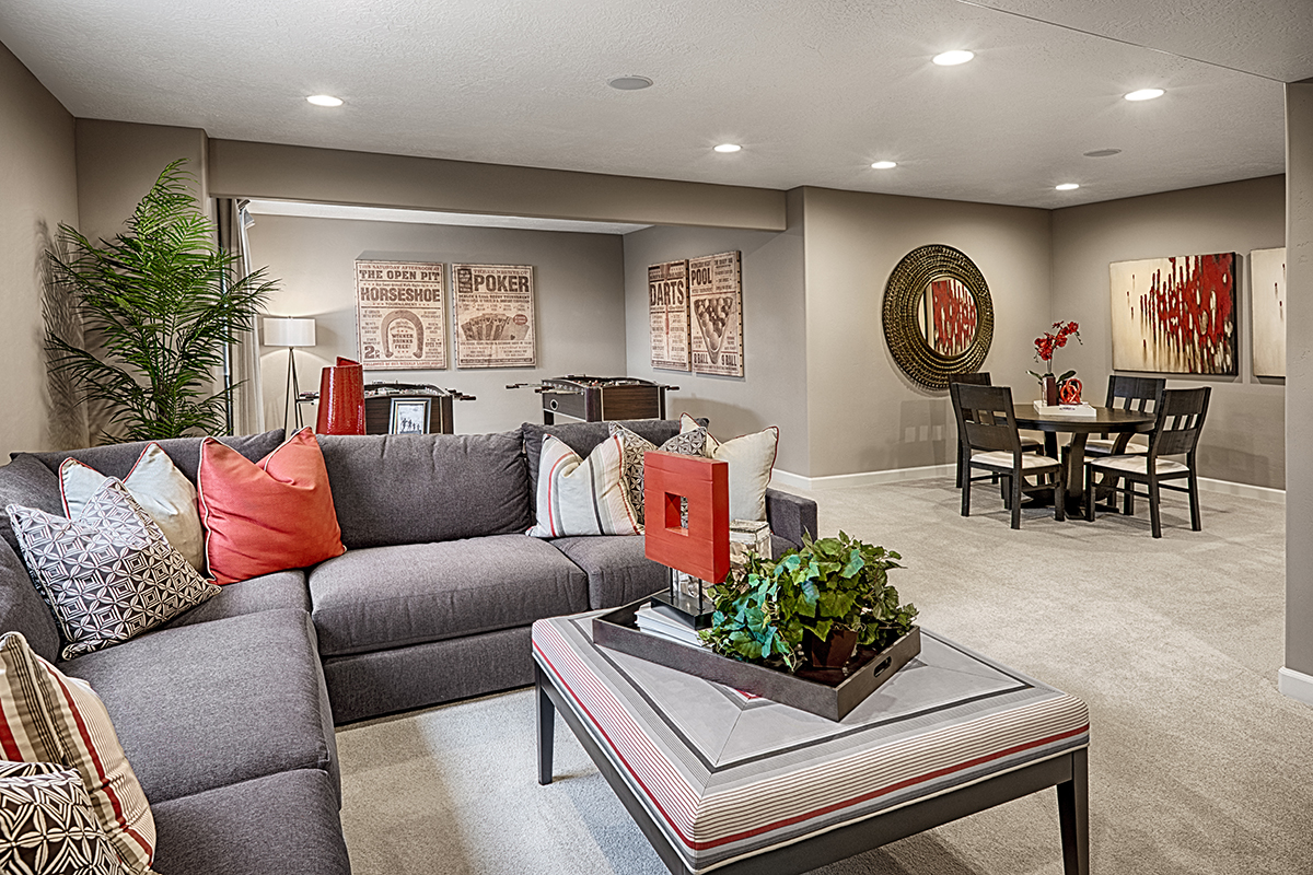 Explore the popular hemingway floor plan richmond for Finish basement utah