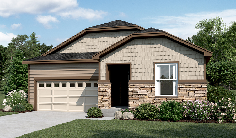 The Onyx plan | Elevation B | Northern Colorado