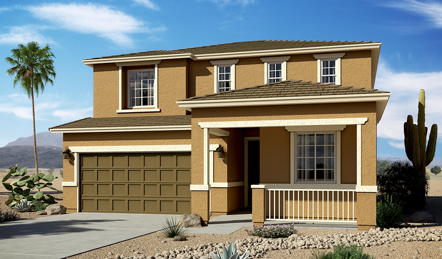 The Citrine plan | Elevation C | Phoenix
