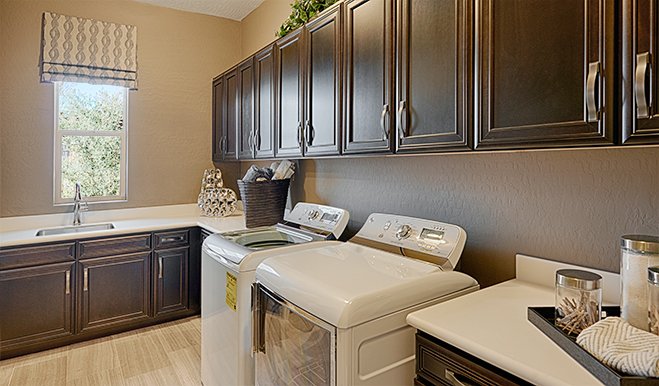Laundry room, Robert model, Las Vegas