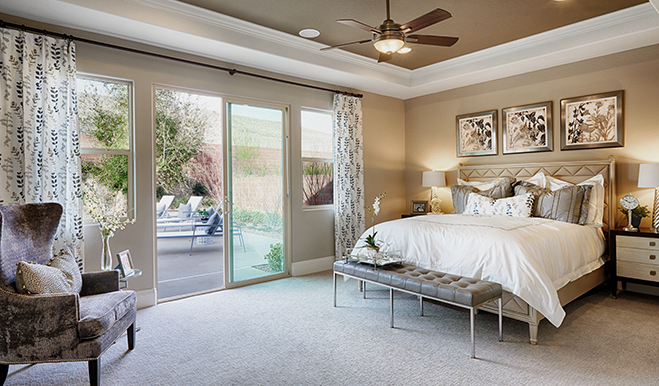 Master bedroom, Robert model, Las Vegas