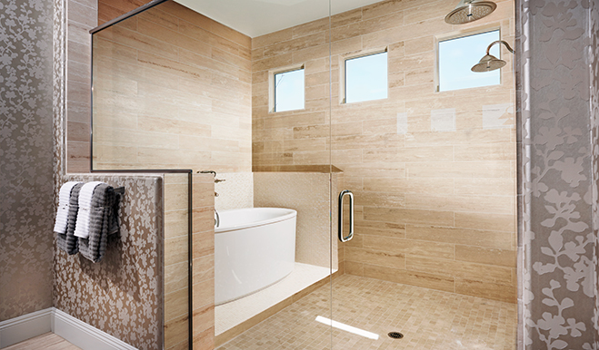 Master bath, Robert model, Tucson