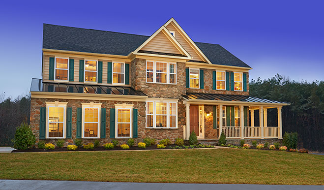 Northern virginia communities with new model homes for American home builders floor plans