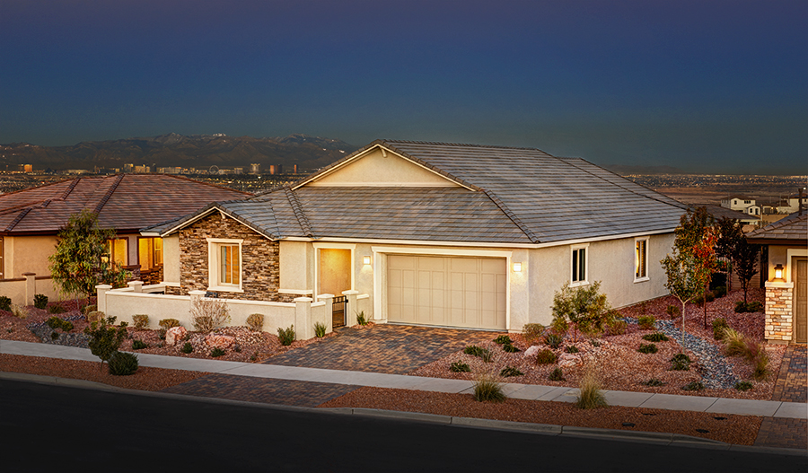 Paige model home ~ Crescendo at Cadence