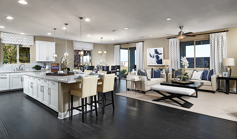 Paige model great room ~ Crescendo at Cadence