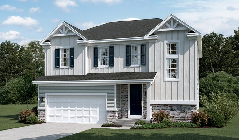 Artist rendering of the Bedford home