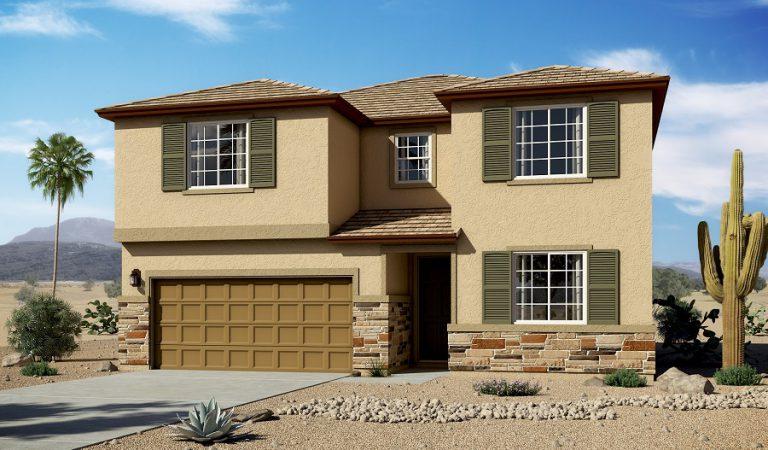 Artist rendering of the Coronado home