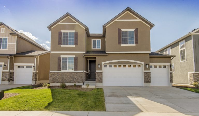 Photo of the Coronado model home in Utah