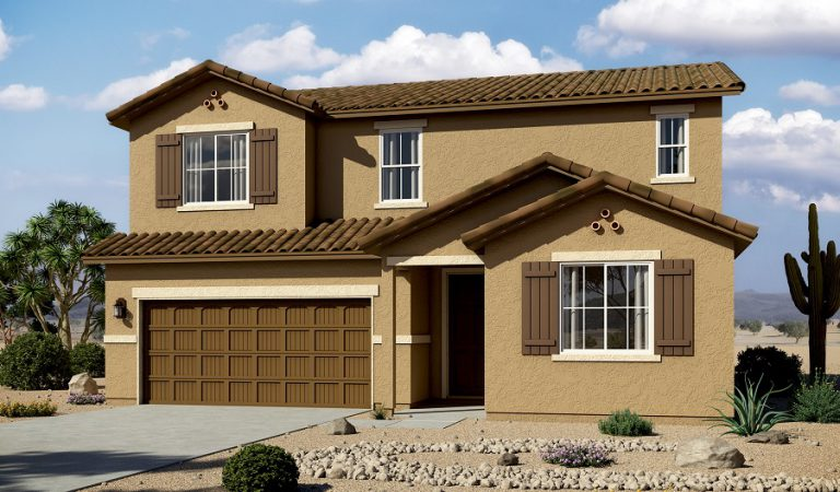 Artist rendering of the Hopewell home