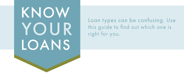 Mortgage tips: know your loans