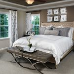 Amy model home master bedroom