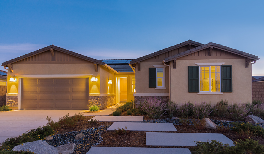 The Dominic Model Home Exterior