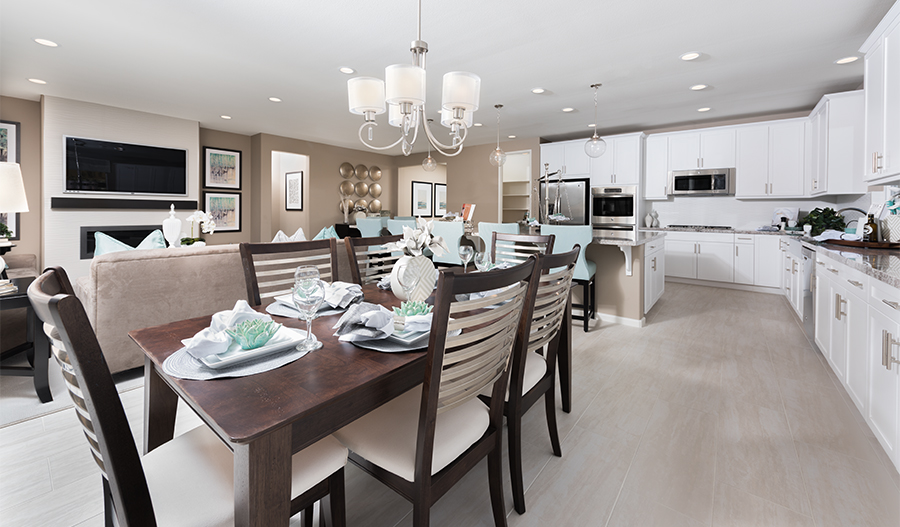 The Paige Model Home Dining Room