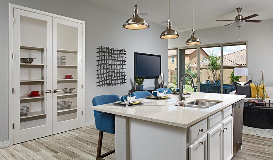 Kitchen in Phoenix model