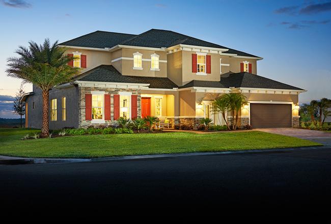 Harmon model home in Florida