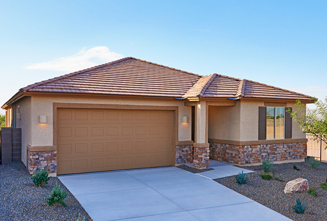 "<a href=""https://www.richmondamerican.com/arizona/tucson-new-homes/search/floorplan-arlington?ch=online&ls=Social-Site&ta=Agent-Blog"" target=""blank""><b>The Arlington in Tucson</b></a><br />3-bed, 2-bath ranch floor plan • Approx. 1,800 sq. ft."