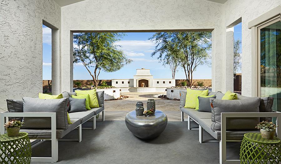 Outdoor living | Raven model home