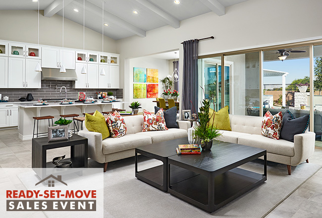 Ready Set Move Event Home Interior