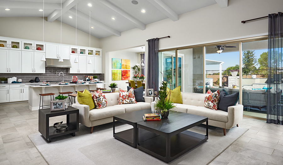 Great room | Ryder model home