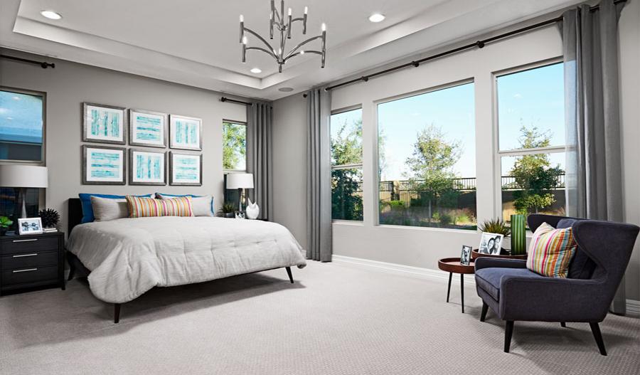 Master bedroom | Ryder model home
