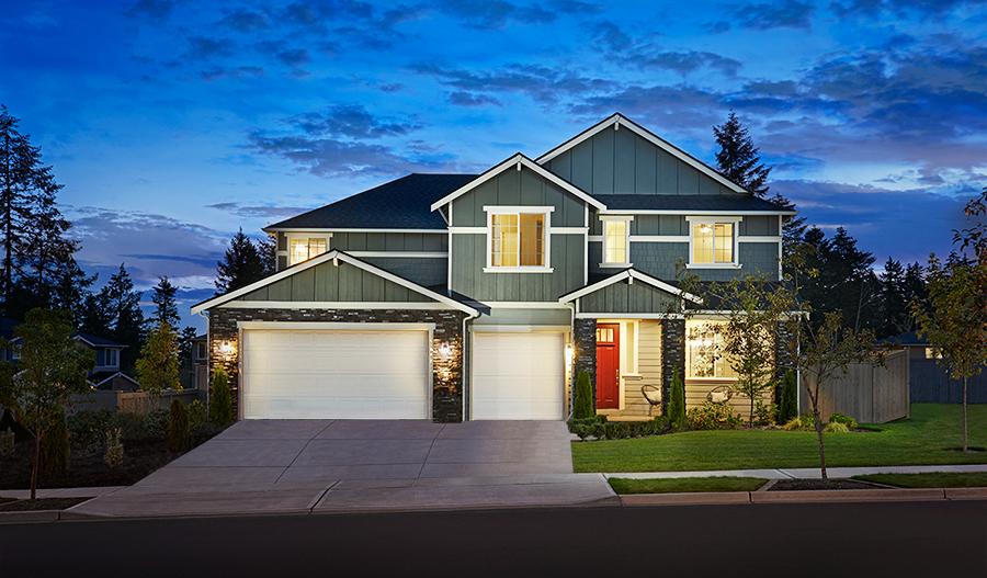 The Dillon model home exterior