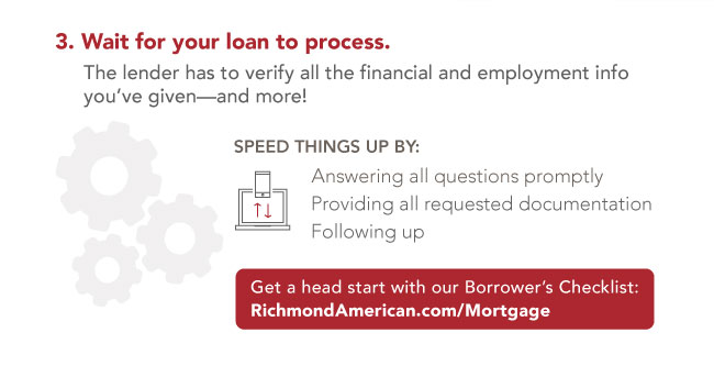 Wait for your loan to process
