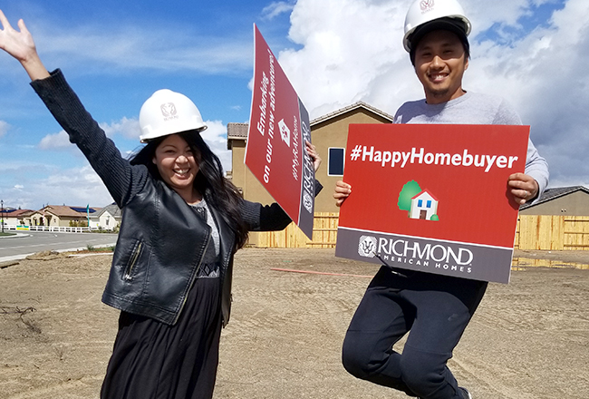 Happy Homebuyers