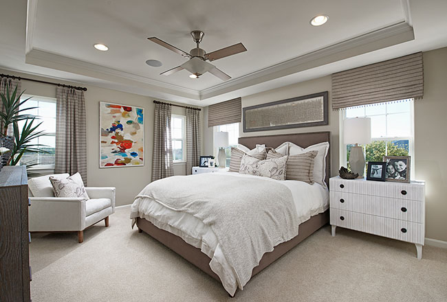 Hopewell master bedroom in Virginia