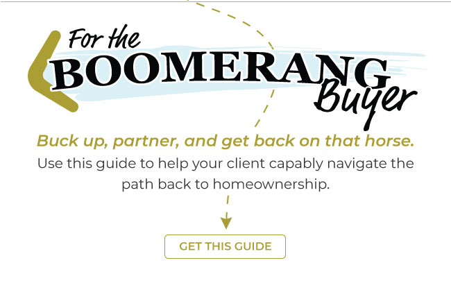 For the boomerang buyer