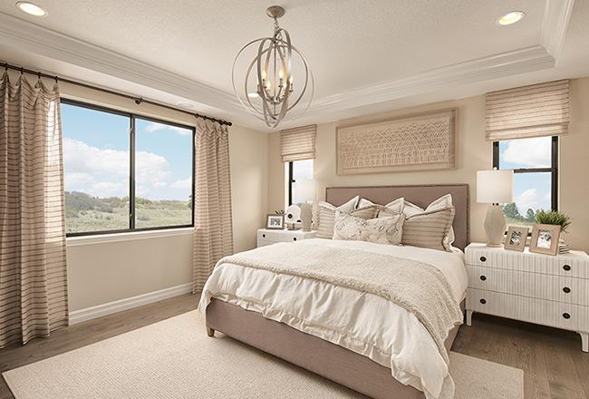 Harris master bedroom