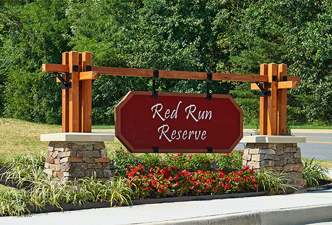 Red Run Reserve entrance