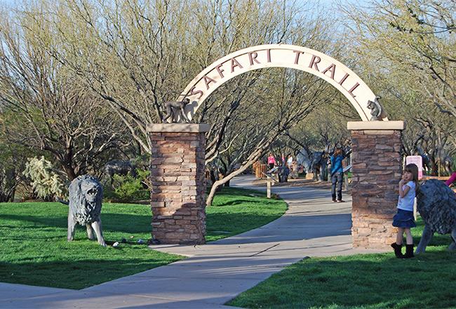 Safari park & trail