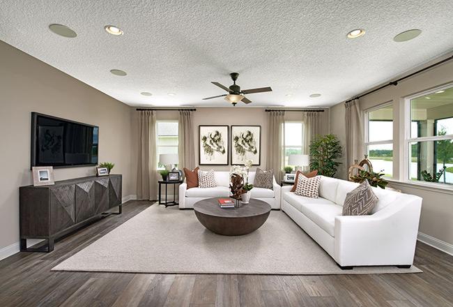 Darius floor plan - great room