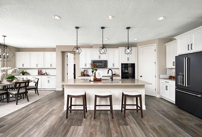 Darius floor plan - kitchen