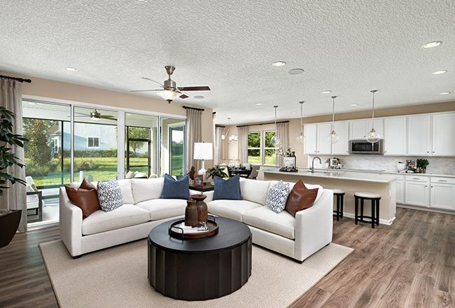 Hanson floor plan - great room