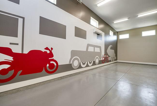 Hanson floor plan - RV garage