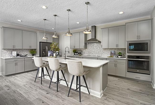 Harley floor plan - kitchen
