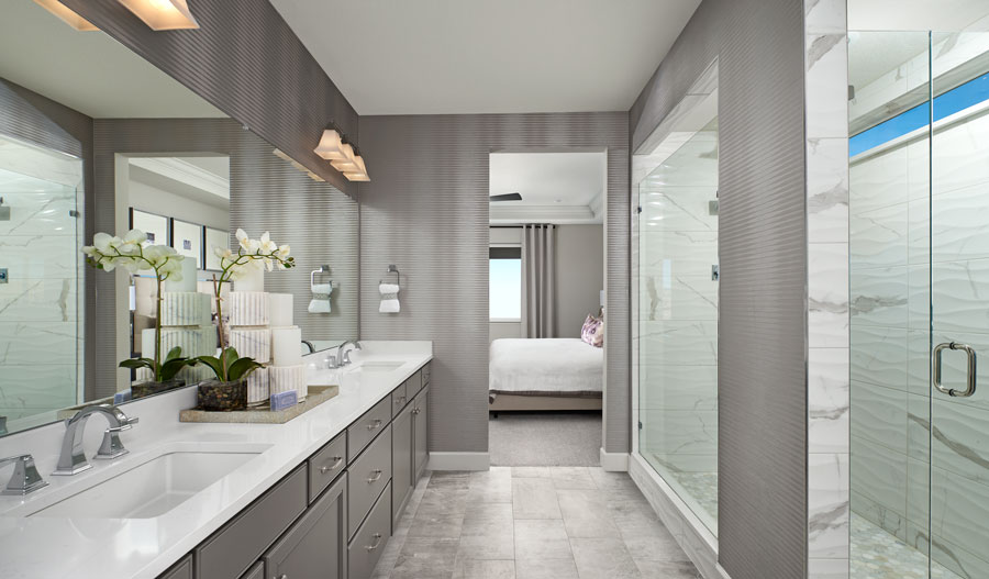 Owner's bath in the Arlington