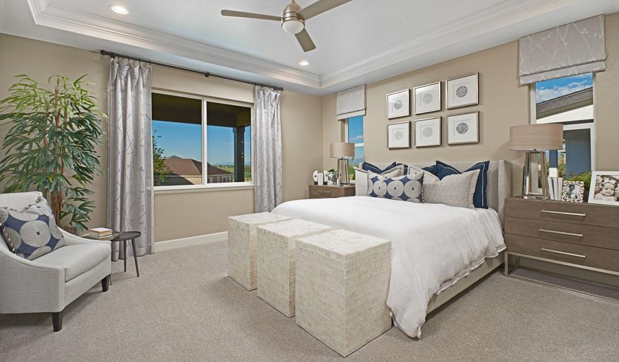 Owner's bedroom in the Arlington