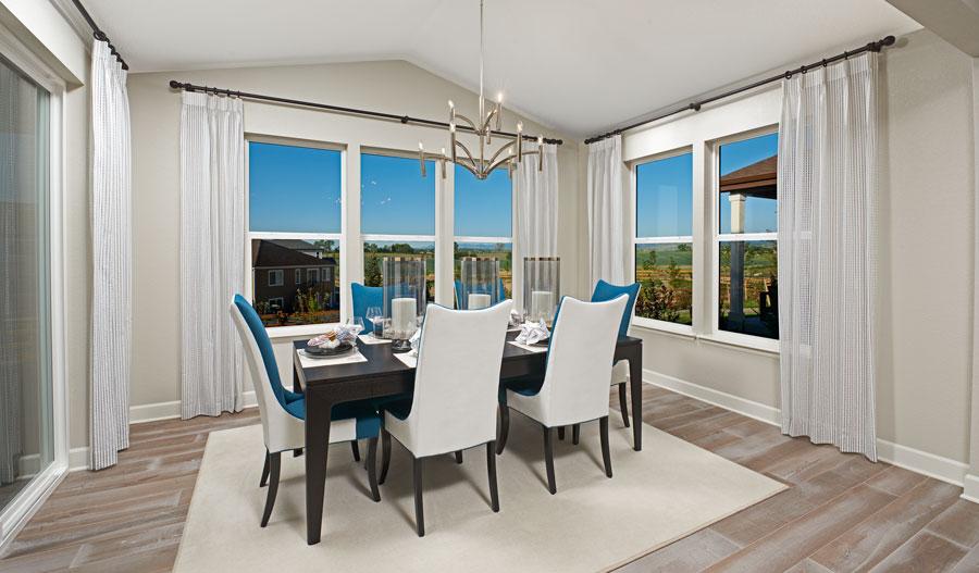 Dining room in the Hemingway