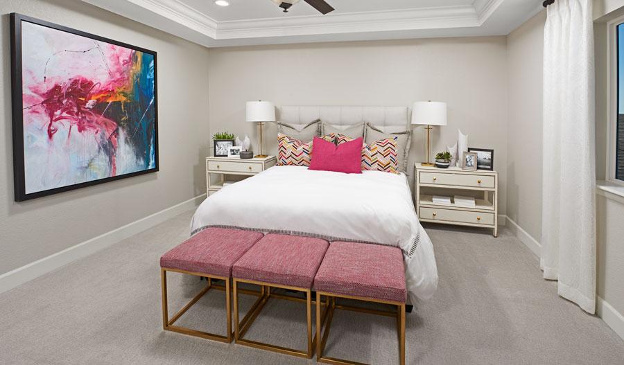 Owner's bedroom in the Hemingway