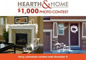 Hearth & Home photo contest