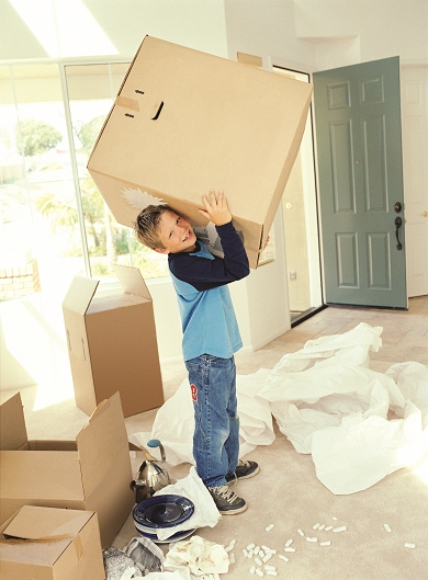 Child Moving Into a New Home