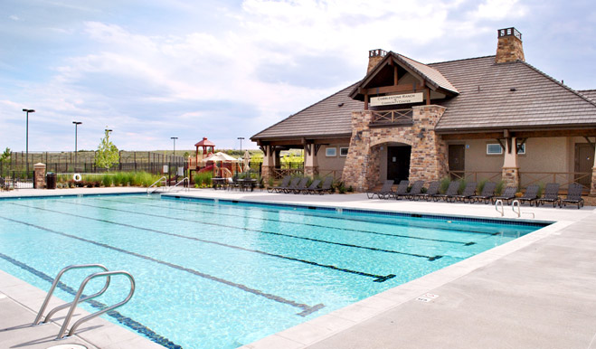 Pool at Cobblestone Ranch in Castle Rock, CO