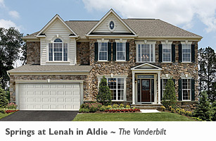 The Vanderbilt floor plan in Loudon Country, VA