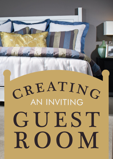 Inviting guest room