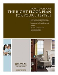 Finding a new home that fits your lifestyle richmond for How to choose a house plan